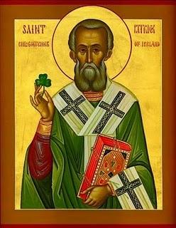 O άγιος Πατρίκιος, Φωτιστής της Ιρλανδίας