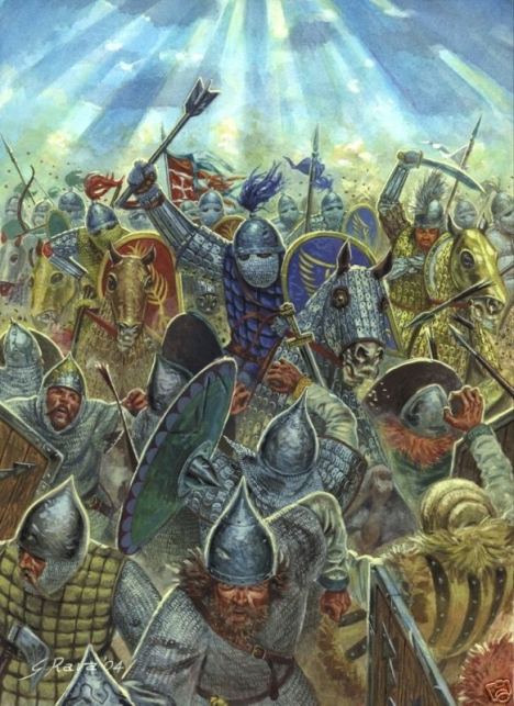 Byzantyne catafracts charge