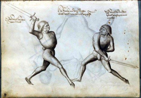 Η Oberhau εικονηζεται στα αριστερά και η unterhau στα δεξιά