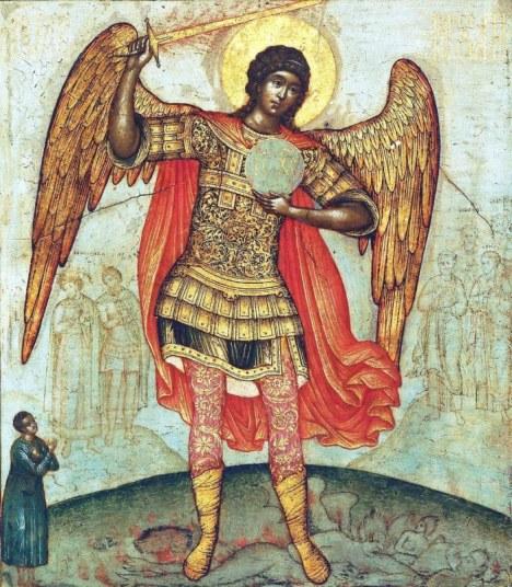 Αρχάγγελος Μιχαήλ (Semyon Ushakov, 1676)