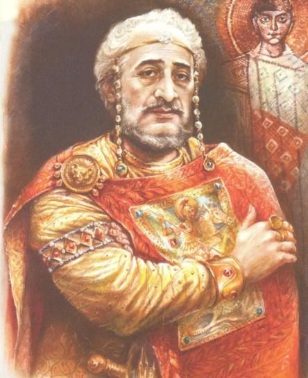 Ο αυτοκράτωρ Μαυρίκιος _ έργο του Αιμιλιανού Στάνεφ_πηγή the history of byzantium