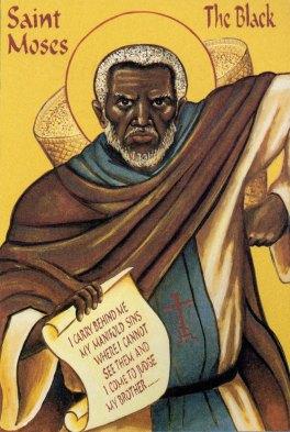 Αποτέλεσμα εικόνας για αγιος μωυσης αιθιοπας