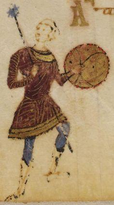 Eastern Roman foot soldier with bardukion.